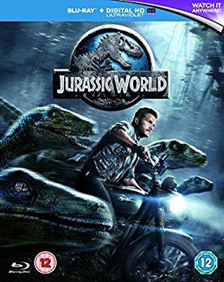 Jurassic World Blu-ray+UV £5.50 @ Amazon with Prime