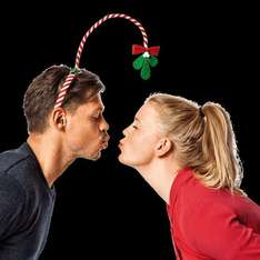Are you *that* person at the office Christmas party? £2 Mistletoe headband in store at Tiger