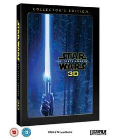 Star Wars: The Force Awakens (3D Edition Collector's Edition) [Blu-ray] £16.99 W/Code @Zoom