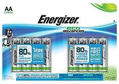 Stock up for all those new Xmas toys! Energiser Eco Advanced now half price in Sainsburys. 8 pack AA £4