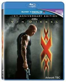 Pre-Order: XXX (15th Anniversary Edition With UV Copy) [Blu-ray] £5.95 W/Code @Zoom