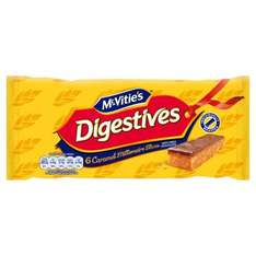 McVities Digestives Caramel Slices 6 pack Was £1.45 Now 64p @Morrisons Online/Instore