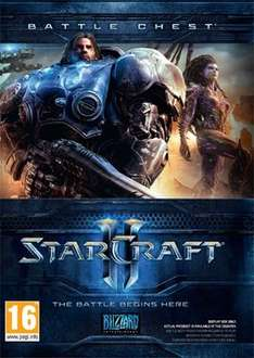 StarCraft 2 Battle Chest 2.0 (all 3 SC2 games) - £20.89 @ cdkeys w/code