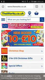 10 children's books for £10 free click and collect 160 titles to choose from  £10 @ The Works