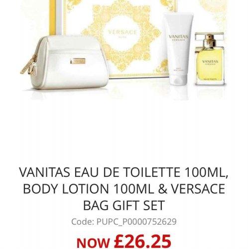 Versace gift set 100ml version only £26.25 @ Beauty Base