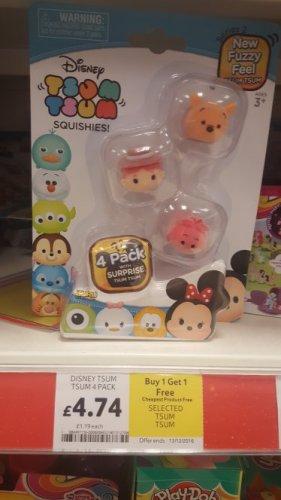 Tsum tsum 4 pack (series 2) BOGOF for £4.74 @ Tesco instore - Melton Mowbray