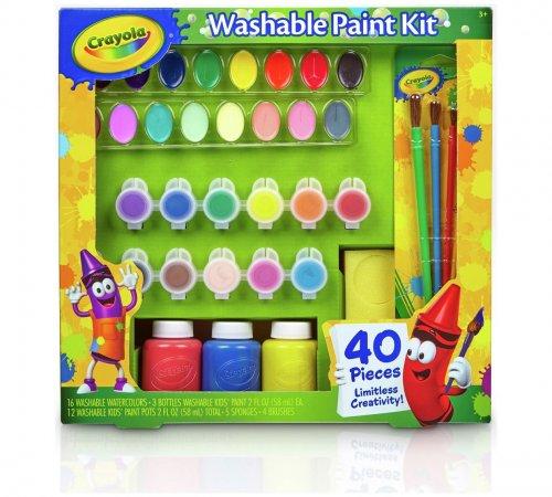 Crayola 40 Piece Washable paint set was £19.99 now £7.99 @ Argos