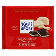 Ritter Sport Marzipan 2 for £1.50 at Waitrose, normally £1