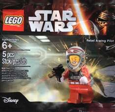 Free Lego Rebel A-wing Pilot Minfigure min spend £25 @ LEGO