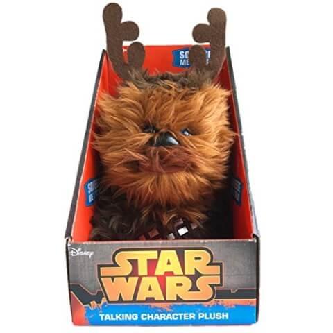 "Star Wars Chewbacca Christmas Talking Plush (Medium 9"""") £7.99  @ zavvi"