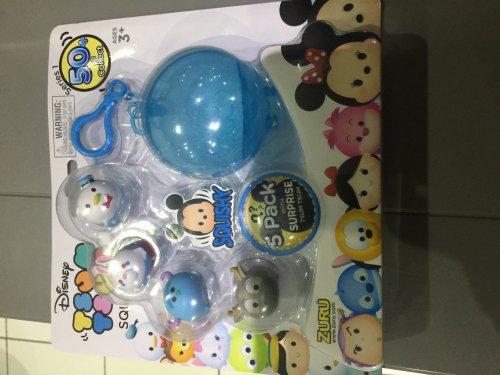 Tsum Tsum Squishies 5 pack at Tesco