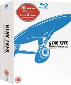 star trek 10 movie boxset Blu-ray £21.99 at zavvi
