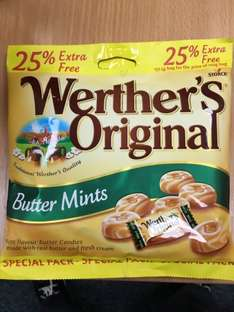 Werther's Original Butter Mints 137.5g @Poundland for only £1