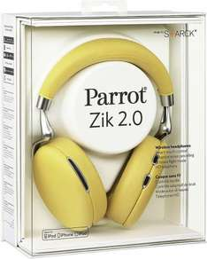 Parrot Zik 2.0 by Philippe Starck Wireless, Noise Cancelling Headphones - Yellow (47% off) £135.99 @ Amazon