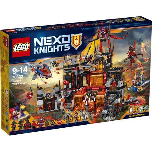 Lego Nexo Knights Jestro's Volcano Lair 70323 £54.95 @ jadlamracingmodels