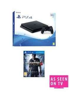 PS4 Slim with uncharted 4 £229.99 @ Very