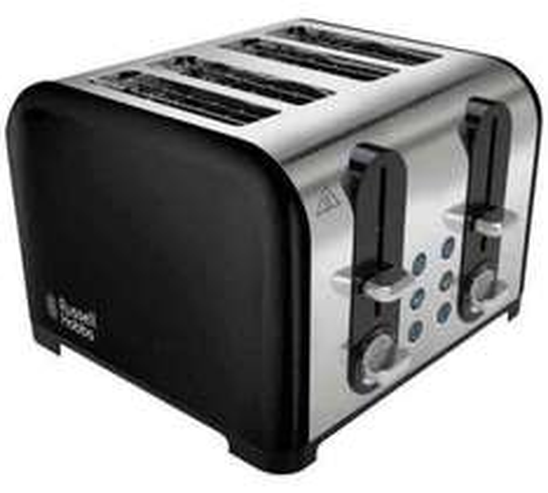 Russell Hobbs 4 Slice Black Westminster Toaster @ Argos £24.99