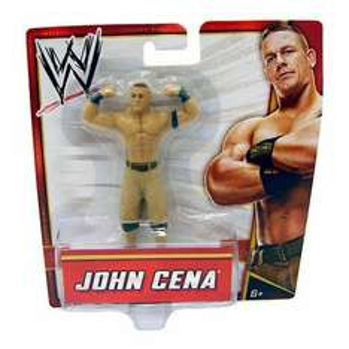 John Cena 10cm WWE wrestler figure £2 @ Tesco