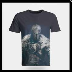 Dark Souls T Shirt (Character) Large @ShopTo (Free Delivery) £7.85 down from £19.99