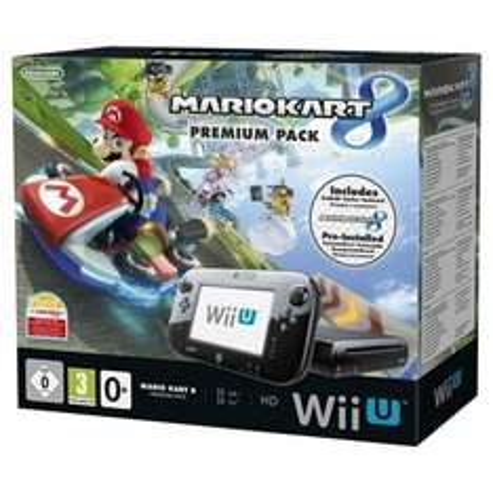 £237.49 Nintendo Wii U Console Mario Kart 8 Premium Bundle + FREE Wii U Art Academy: Atelier + free CaC @tesco.com