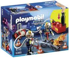 Playmobil 5365 City Action Fire Brigade Firefighters with Water Pump from Amazon. £9.99 with Prime. £13.94 for non Prime.