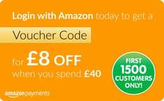 Get £8 off when you spend £40, log into entertainer through amazon (instruction below) first 1500 customers only
