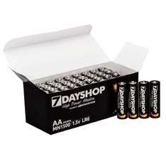7dayshop AA / AAA High Power Alkaline Batteries 40 Pack £9.98 delivered - 7day shop