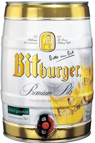 BITBURGER PREMIUM GERMAN BEER 2 x 5L KEG £14.99 #INSTORE# @ ICELAND (FOOD WHAREHOUSE)