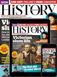 89% off.. 5 issues of BBC History Magazine for £5 @ Buysbuscriptions