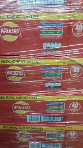 Walkers 40 pack box - £4 instore @ Tesco