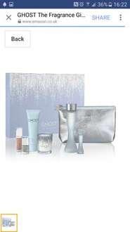 GHOST The Fragrance Gift Set - 7 Piece set £24.99 @ Amazon