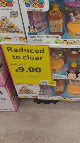 Tsum tsum toy shop play set - £9 @ Tesco instore