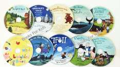 Julia Donaldson Audio CD Collection - 10 CDs  Gruffalo etc. £10.88 inc Standard delivery (free 89p book) @ THE BOOK PEOPLE