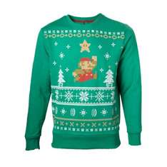 Nintendo Xmas Jumpers 50% off inc Mario, Pokemon only £17.49 each, Zelda is £22.49  + £1.99 P&P (or free del on a +£20 spend) @ Nintendo Store