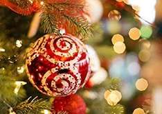 Buy 3 get a 4th free on Christmas decorations/Christmas related stuff £1 instore @ Poundworld