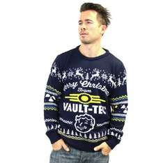 Fallout Merry Christmas from Vaultec Jumpers, All sizes, reduced to £22.99 & Free Delivery from Base.com