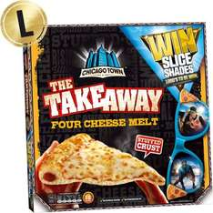 Chicago Town Takeaway Stuffed Crust Four Cheese Melt Pizza (630g) or Pepperoni (645g) was £3.87 now £2.00 @ Morrisons