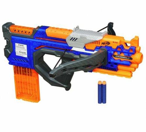 Shoot the kids for cheap! Nerf Elite Crossbolt Blaster £12.99 @ Argos