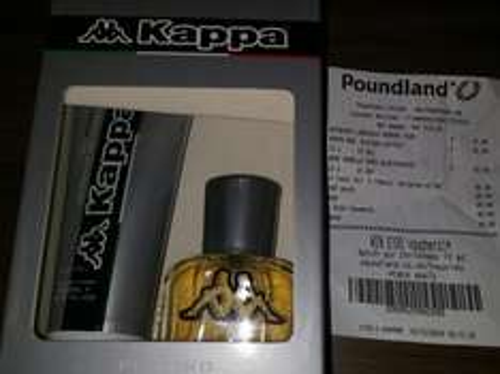 Kappa Platino 30ml EDT & 100ml Shower Gel Gift Set, £1 @ Poundland In Store