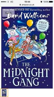 The midnight gang David walliams £5 Prime / £7.99 Non Prime @ Amazon