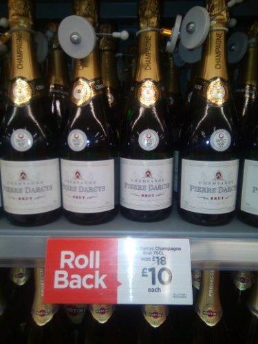 Pierre Darcys champagne £10 @ Asda