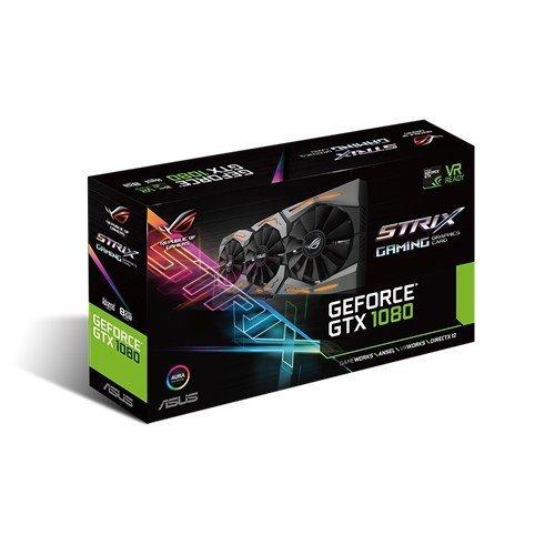 Asus nVidia GTX 1080 Strix A8G Graphics Card - Asus via Amazon - £577.46 (Select Amazon as seller)