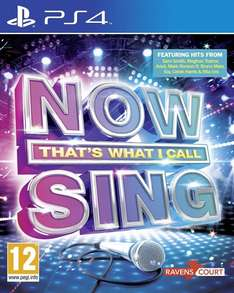 Now That's What I Call Sing (PS4) at Amazon
