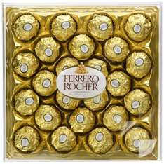 Ferrero Rocher, 300g (Pack of 3) 72 in total £15.40 21.4p each @ Amazon ( free delivery with Prime )