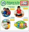 Up to 1/2 price OFF LeapFrog Fun Learning Products - Infant Toys, Leapster2, Tag, Clickstart - Woolworths + quidco