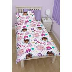 The Entertainer. Doc mcstuffins duvet set. £8 & Buy one get one for a penny offer.