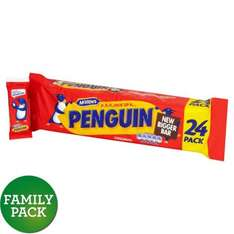 P-p-p-pick up a Penguin. 24 pack Half Price. £2 @ Morrisons Online/Instore.