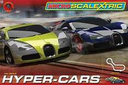 Micro Scalextric 1:64 Scale Hyper Cars Race Set £21.19 @ Amazon