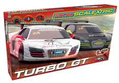 Scalextric G1118 Micro Scalextric Turbo Audi R8 GT Set - £31.99 Delivered or £28.49 Click & Collect @ Hawkin's Bazaar