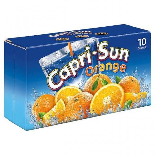 Capri-Sun Juice Drinks (10 x 200ml Packs) 2 For £3.50 @ Iceland